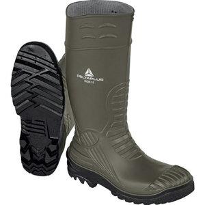 Rubber safety boots Iron S5 SRC, khaki/black, Delta Plus