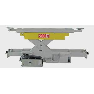 Jacking beam 2T, J20PNX, Air hydraulic, , Ravaglioli