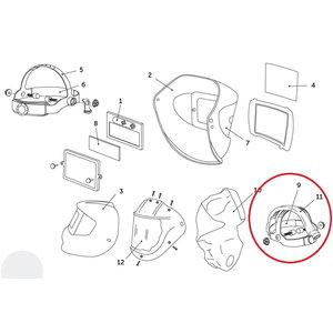 PAPR Welding Head Gear for WH40 helmet, Jackson