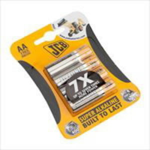 AA Batteries ( Card of 4 ), JCB