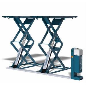 Topeltkäärtõstuk JUMBO-Lift NT, 3500, põrandapealne RAL 5001, Nussbaum