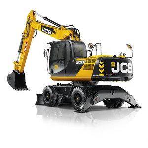 Wheeled excavator  JS175W, JCB