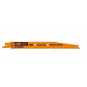 Otssaeterad puidule ja metallile 180x2,1-4,3/6-12TPI 5tk/pk, CMT