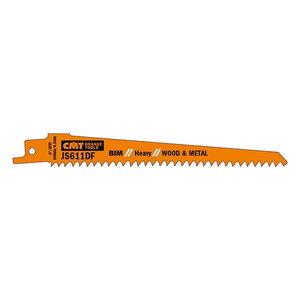Sabre saw blades 150x1,25mm 6TPI BIM Co8 5pcs, CMT