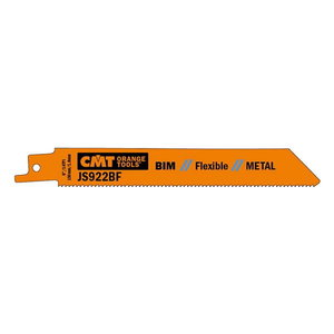 Otssaeterad metallile 130x0,9mm BIM Co8 Z14TPI 5tk/pakis, CMT