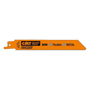 Zobenzāģa asmeņi 150x1,4mm BIM 8%Co 5gab, CMT