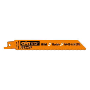 Sabre saw blades 150x1,8-2,6mm BIM 8%Co 5pcs, CMT