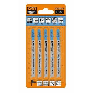 Tikksaeterad metallile HSS 75x1.2-2.6/10-21TPI 5tk pakis