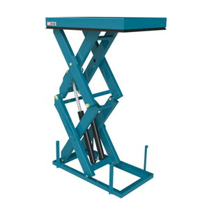High lift scissor table 2500kg
