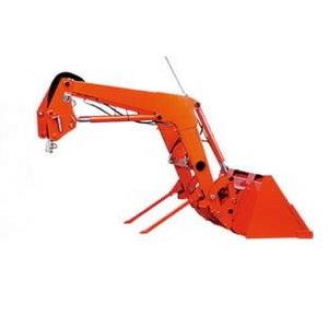 Kubota Orange special color for  front loaders, Stoll