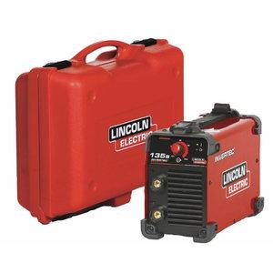 инверторный сварочный аппарат  135S, 230V-1f,  в чемодане, LINCOLN