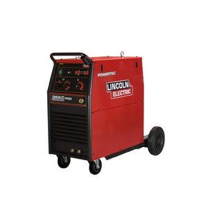MIG Suvirinimo aparatas Powertec 355C Pro, Lincoln Electric