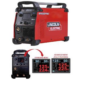 Portable semiautomatic welder Speedtec 200C, Lincoln Electric