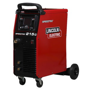 Inverter-type semiautomatic welder Speedtec 215C, Lincoln Electric