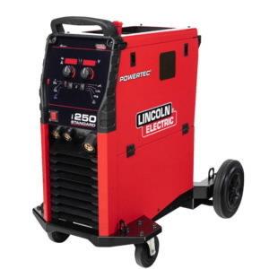 MIG/MAG metināšanas iekārta Powertec i250C Standard  250A @60%.Stie, Lincoln Electric