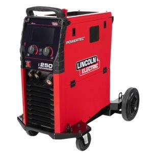 MIG Suvirinimo aparatas Powertec i250C Advanced, Lincoln Electric