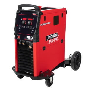 MIG Suvirinimo aparatas Powertec i320C Standard, Lincoln Electric
