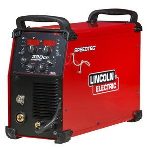 MIG Suvirinimo aparatas Speedtec 320CP, pulse, Lincoln Electric