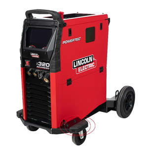 Gumijas aizsargi prieks Powertec i250C/i320C, Lincoln Electric