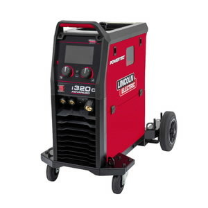 MIG Suvirinimo aparatas Powertec i320C Advanced, Lincoln Electric