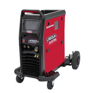 MIG-welder Powertec i450C Advanced, Lincoln Electric