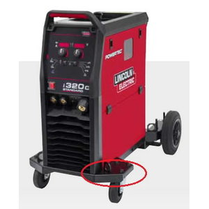 Guminiai bamperiai 2vnt Powertec i250C/i320C, Lincoln Electric