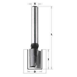 Frēzes asmens ar centra uzgali S=8mm, D=12mm, CMT