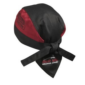 Keevitaja müts Lincoln, punane/must, üks suurus