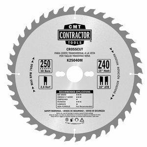 Pjovimo diskų rinkinys 305x2,6/30mm Z40/60 2 vnt., CMT
