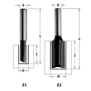 Frēzes asmens S=8mm, D=6mm, CMT