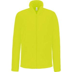 Fleece Kariba Falco, long zippered Yellow