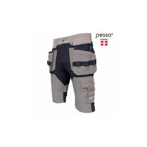 Šortai  su  kišenėmis dėklais Titan Flexpro, smėlinė C50, Pesso