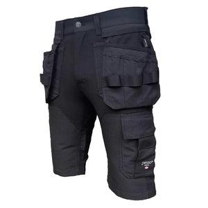 Tööpüksid ripptaskutega lühikesed Titan Flexpro strets, hall, Pesso