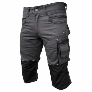 Trousers  Stretch 3/4 darkgrey, Pesso