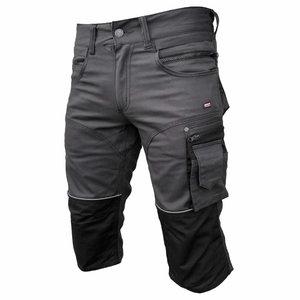 Kelnės   Stretch 3/4  tamsiai  pilka C52, Pesso
