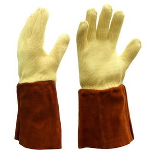WOVEN KEVLAR thread gloves, insulated from heat 250C 9, Delta Plus