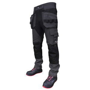 Trousers with holsterpockets Titan Flexpro, grey C48, , Pesso