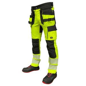 Trousers Hi-viz  Uranus Flexpro CL2 yellow C52, Pesso