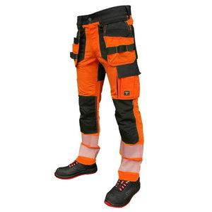 Trousers Hi-viz  Uranus Flexpro CL2 orange C48, Pesso
