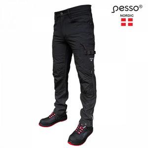 Bikses Mercury, elastīgas, melnas C60, Pesso