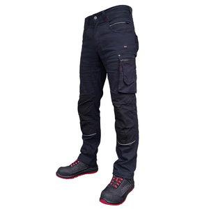 Darbinės kelnės  Stretch 215, tamsiai mėlyna C44, , Pesso