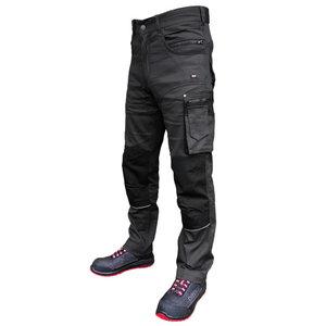 Trousers  Stretch darkgrey C46, Pesso