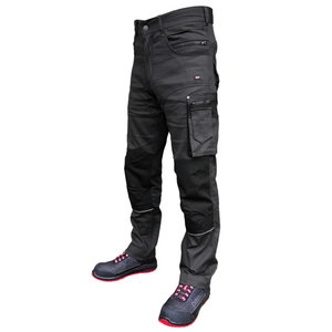 Trousers  Stretch darkgrey C48, Pesso