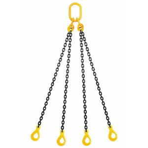 Chain sling 4 legs 8mm 4m, 3 Lift
