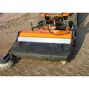 Sweeper with collector Kersten for Kubota F90 series