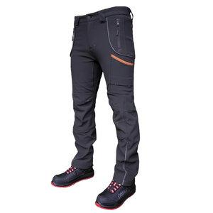 Softshell trousers Nebraska grey, Pesso