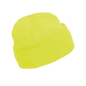 Müts Kariban kootud kõrgnähtav, kollane