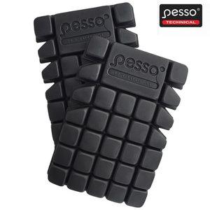 Kneepads, black KP07, Pesso
