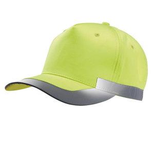 Kõrgnähtav nokamüts K-UP kollane L