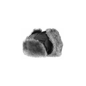 Žieminė kailinė kepurė Kariban, juoda One size